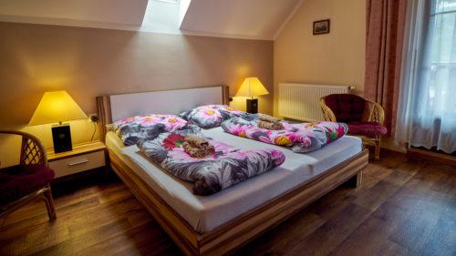 Pokoj č.3 - manželská postel