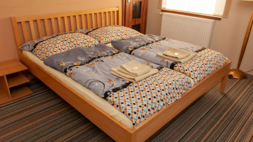 Pokoj č.1 - manželská postel