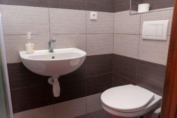 Pokoj č.3 - toaleta