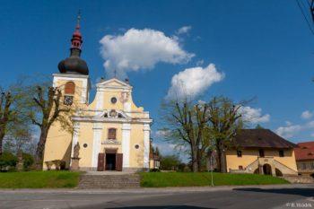 Česká Skalice - kostel