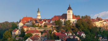 Nové Město nad Metují - pohled z Výrova