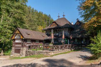 Peklo - Jurkovičova chata